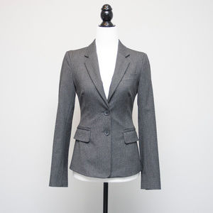 United Colors of Benetton Fitted Grey Blazer